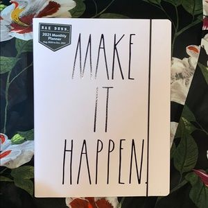 Rae Dunn MAKE IT HAPPEN 17 month planner
